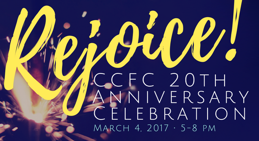 CCFC 20th Anniversary Party - March 4, 2017