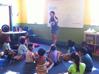 Class at CCFC's Vacation Bible School